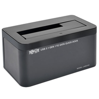 Tripp Lite U439-001 Nero docking station HDD/SSD