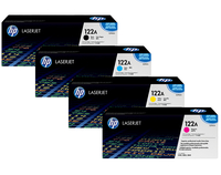 HP 122A Original LaserJet Toner Cartridges Laser cartridge Nero, Ciano, Giallo