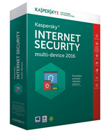Kaspersky Lab Internet Security Multi-Device 2016 4utente(i) 1anno/i CZE
