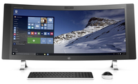 "HP ENVY 34-a001la 2.8GHz i7-6700T 34"" 3440 x 1440Pixel Nero, Argento PC All-in-one"