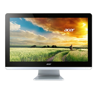 "Acer Aspire ZC-700 1.6GHz N3700 19"" 1920 x 1080Pixel Nero, Argento PC All-in-one"