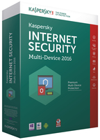 Kaspersky Lab Internet Security Multi-Device 2016 Full license 2utente(i) 1anno/i ESP