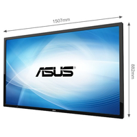 "ASUS SP6540-T Digital signage flat panel 65"" Full HD Nero"