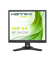"Hannspree Hanns.G HP 194 DJB 19"" Nero monitor piatto per PC"