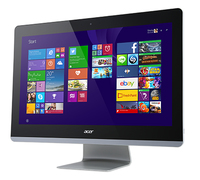 "Acer Aspire AZ3-710 2.2GHz i7-4785T 23.8"" 1920 x 1080Pixel Touch screen Nero PC All-in-one"