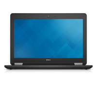 "DELL Latitude E7250 2.3GHz i5-5300U 12.5"" 1920 x 1080Pixel Touch screen 4G Nero Computer portatile"