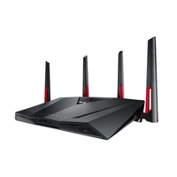 ASUS RT-AC88U Dual-band (2.4 GHz/5 GHz) Gigabit Ethernet Nero router wireless