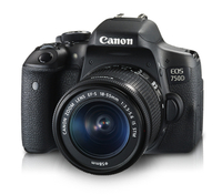 Canon EOS 750D + EF-S18-55mm IS STM + CS100 Kit fotocamere SLR 24.2MP CMOS 6000 x 4000Pixel Nero