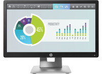 "HP EliteDisplay E202 20"" IPS Nero, Argento monitor piatto per PC"