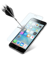 Cellularline Second Glass Ultra - iPhone 6S Vetro temperato trasparente sottile, resistente e super sensibile Trasparente