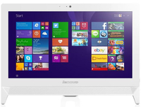 "Lenovo IdeaCentre C20-05 1.35GHz E1-6010 19.5"" 1920 x 1080Pixel Bianco PC All-in-one"