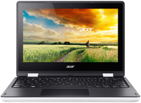 "Acer Aspire R 11 R3-131T-P8GC 1.6GHz N3700 11.6"" 1366 x 768Pixel Touch screen Nero, Bianco Ibrido (2 in 1)"