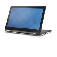 "DELL Inspiron 7352 2.4GHz i7-5500U 13.3"" 1920 x 1080Pixel Touch screen Nero, Argento Ibrido (2 in 1)"