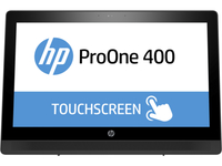 "HP ProOne 400 G2 2.5GHz i5-6500T 20"" 1600 x 900Pixel Touch screen Argento PC All-in-one"