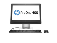 "HP ProOne 400 G2 + Care Pack 3Y 3.2GHz i3-6100T 20"" 1600 x 900Pixel Argento PC All-in-one"