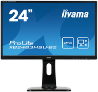 "iiyama ProLite XB2483HSU-B2 23.8"" Full HD A-MVA Opaco Nero monitor piatto per PC LED display"