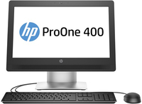 "HP ProOne 400 G2 + Microsoft Office Home & Business 2016 3.2GHz i3-6100T 20"" 1600 x 900Pixel Argento PC All-in-one"