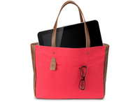 "HP 14"" Ladies Red Tote 14"" Ventriquattore da donna Marrone, Rosso"