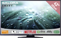 "Salora 43LED9102CS 43"" Full HD Smart TV Nero LED TV"