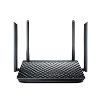ASUS RT-AC1200G+ Dual-band (2.4 GHz/5 GHz) Gigabit Ethernet Nero router wireless