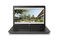 "HP ZBook 17 G3 + 43.9 cm (17.3"") Leather Black Top Load 2.6GHz i7-6700HQ 17.3"" 1600 x 900Pixel Nero Workstation mobile"