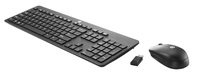 HP Wireless Business Slim Keyboard RF Wireless QWERTY Nero tastiera