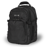"Fujitsu Kenneth Cole Reaction Expandable 15.6"" Padded Security Backpack FPCCC223 15.6"" Zaino Grafite"
