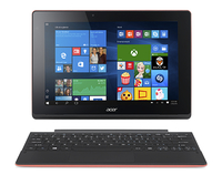 "Acer Aspire Switch 10 E SW3-013-13GW 1.33GHz Z3735F 10.1"" 1280 x 800Pixel Touch screen Nero, Rosso Ibrido (2 in 1)"