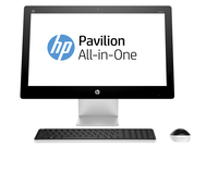 "HP Pavilion 23-q220 3.2GHz i3-6100T 23"" 1920 x 1080Pixel Touch screen Bianco PC All-in-one"