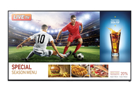 "Samsung RH55E Digital signage flat panel 55"" LED Full HD Nero signage display"