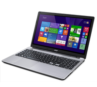 "Acer Aspire V3-572P-326T 2GHz i3-5005U 15.6"" 1366 x 768Pixel Touch screen Argento Computer portatile"