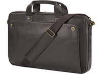 "HP 17.3 Executive Brown Leather Top Load 17.3"" Valigetta ventiquattrore Marrone"