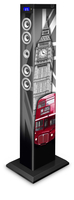 Bigben Interactive TW9LONDON2 Torre 60W Nero set audio da casa