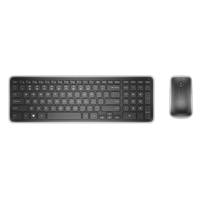 DELL KM714 RF Wireless QWERTY Pan Nordic Nero tastiera