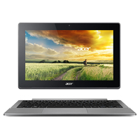 "Acer Aspire Switch 11 V SW5-173-61WR 0.8GHz M-5Y10c 11.6"" 1366 x 768Pixel Touch screen Nero, Grigio Ibrido (2 in 1)"