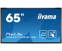 "iiyama TH6567MIS-B1AG Digital signage flat panel 65"" LED Full HD Nero signage display"
