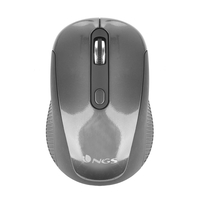 NGS Haze RF Wireless Ottico 1600DPI Ambidestro Nero, Grafite mouse