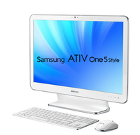 "Samsung DM500A2L 2.1GHz 4405U 21.5"" 1920 x 1080Pixel Bianco PC All-in-one"