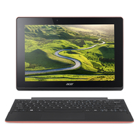 "Acer Aspire Switch 10 E SW3-016-17QP 1.44GHz x5-Z8300 10.1"" 1280 x 800Pixel Touch screen Nero, Rosso Ibrido (2 in 1)"