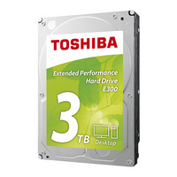 Toshiba E300 3TB 3000GB Serial ATA III disco rigido interno