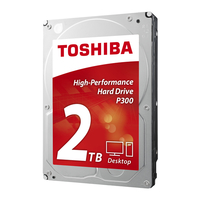 Toshiba P300 2TB 2000GB Serial ATA III disco rigido interno