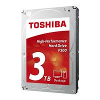 Toshiba P300 3TB 3000GB Serial ATA III disco rigido interno