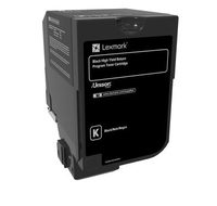 Lexmark 74C1HK0 toner cartridge Original Black 1 pc(s)