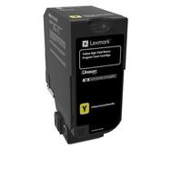Lexmark 74C1HY0 toner cartridge Original Yellow 1 pc(s)