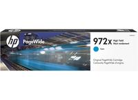 HP 972X Cyan High Yield Original PageWide Ink Cartridge