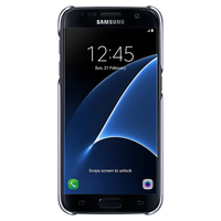 "Samsung Clear Cover 5.1"" Cover Nero"