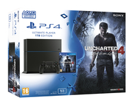 Sony PS4 1TB + Uncharted 4 1000GB Wi-Fi Multicolore