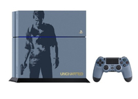 Sony PS4 1TB + Dualshock 4 +Uncharted 4 1000GB Wi-Fi Blu, Grigio