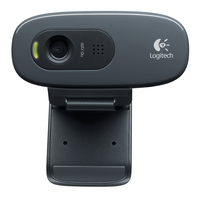 WEBCAM C270 HD BLACK LOGITECH PN:960-001063