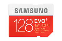 Samsung EVO Plus MB-SC128D 128GB SDXC UHS-I Classe 10 memoria flash